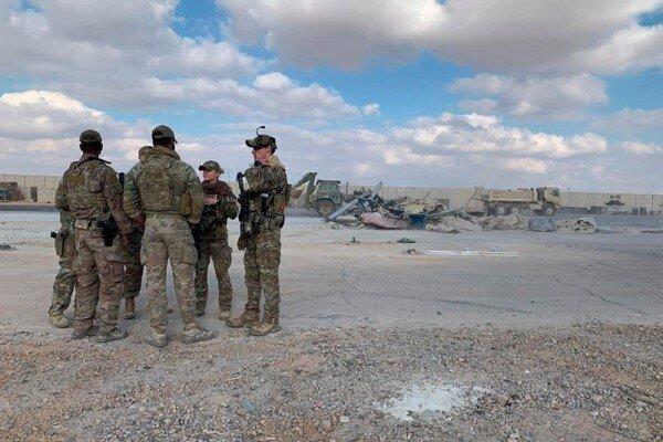 حمله راکتی به پایگاه نظامی تاجی در شمال بغداد