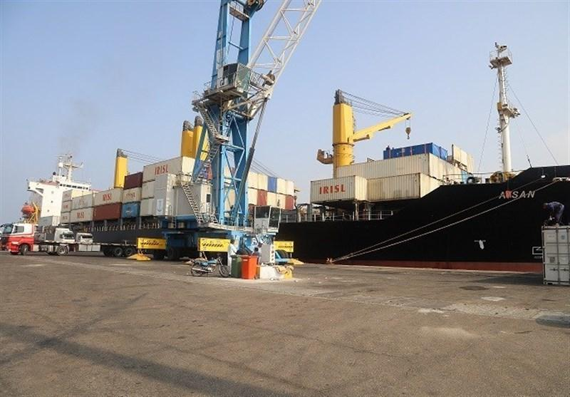 ورود کشتی ایرانی حامل گندم اهدایی هند به بندر چابهار