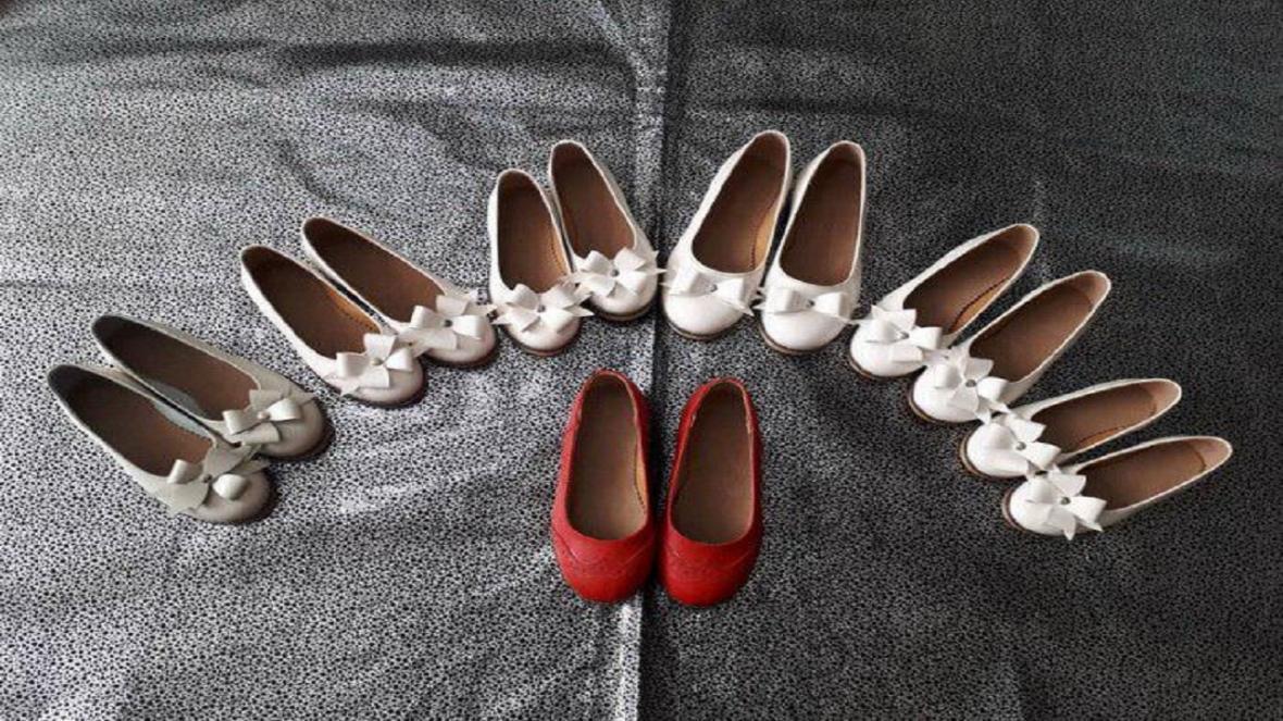 دوخت 185 جفت کفش برای حمایت از خانواده های نیازمند در آبیک