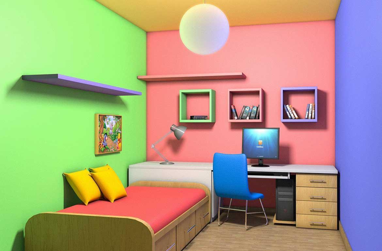 اطلاعاتی دربارۀ تاثیر رنگ اتاق بر انسان